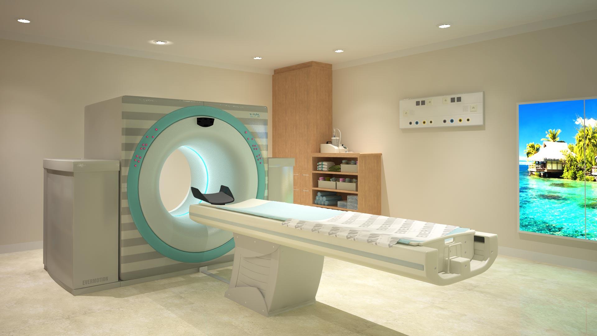 Ressonância Magnética – Sala de exames